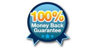 100% Money Back Guarantee icon